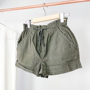 NWOT Dex Linen Shorts